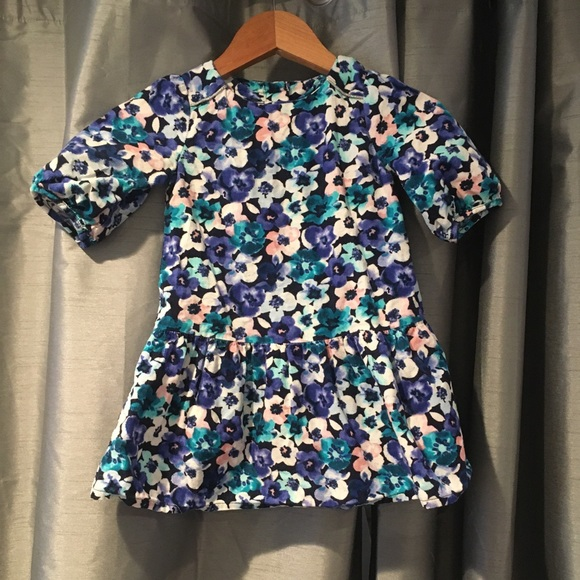 Gymboree floral dress - 18-24M